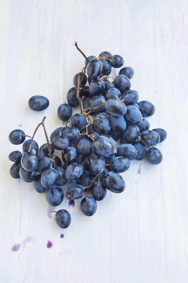 Zoet Rijp Autumn Grapes royalty-vrije stock afbeelding