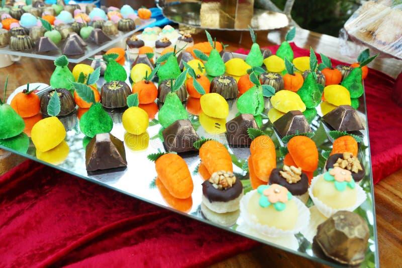 Zoet Suikergoed Perty stock foto's
