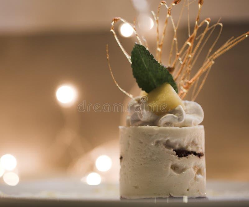 Zoete cake royalty-vrije stock foto