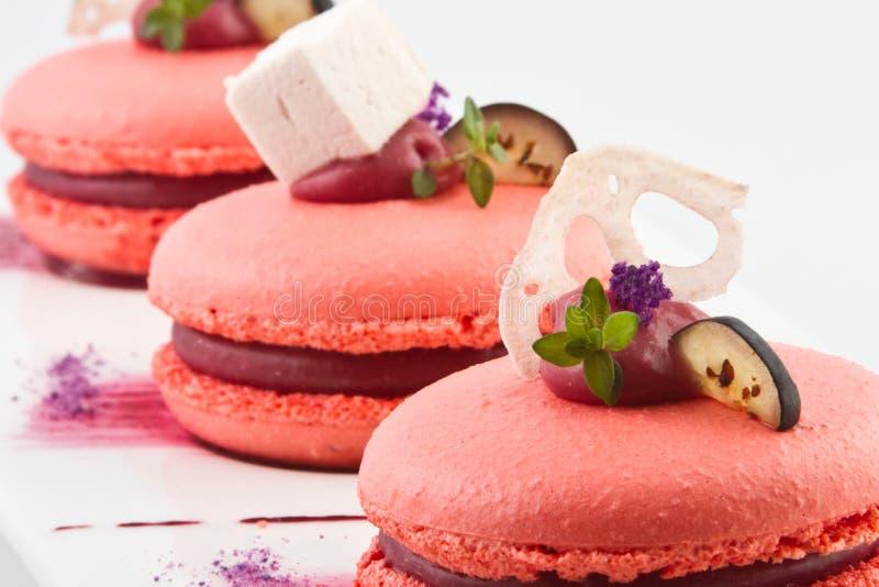 Zoete cakes royalty-vrije stock foto's