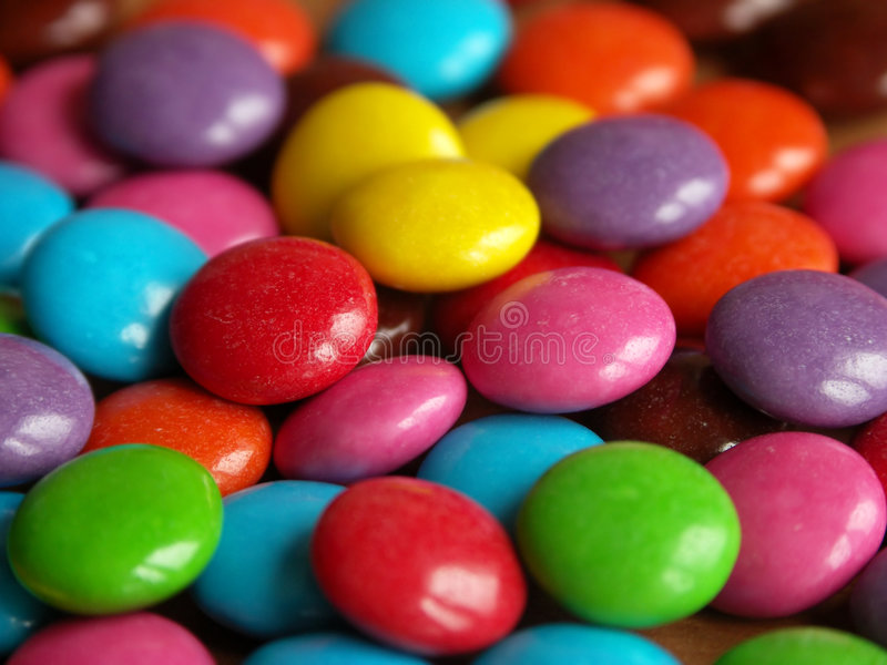 Zoete candys stock foto