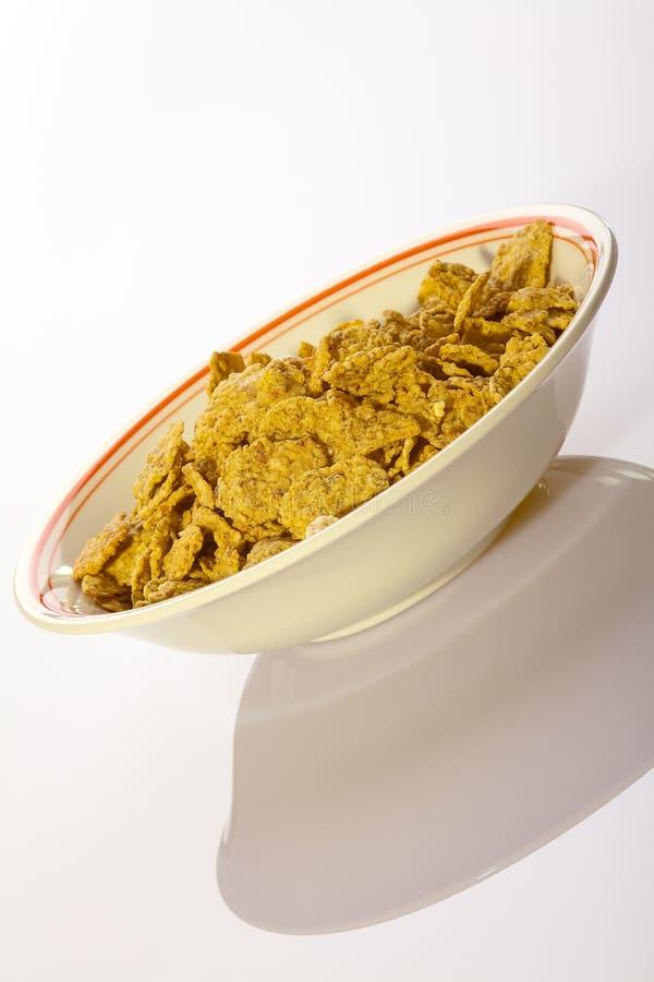 Zoete cornflakes stock fotografie