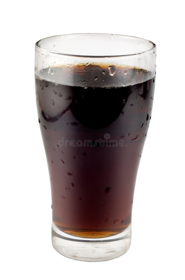 Zoete drank in een glas stock foto