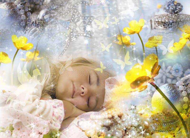 Zoete dromen royalty-vrije stock afbeeldingen