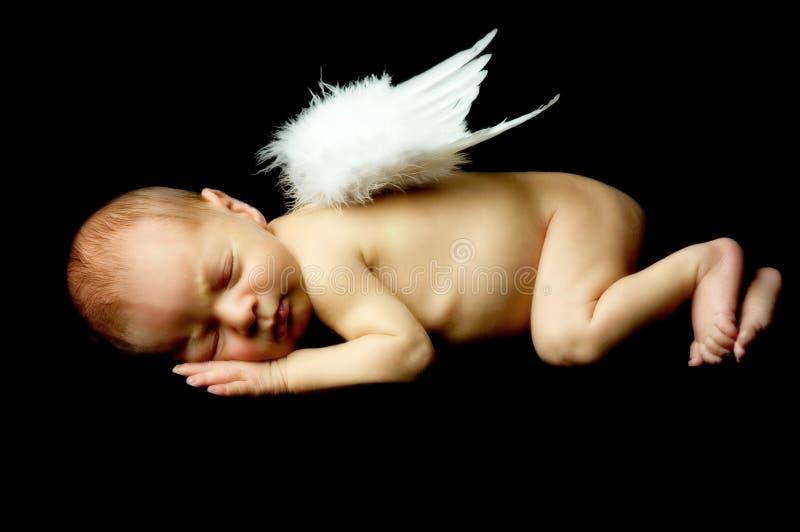 Zoete engel royalty-vrije stock fotografie