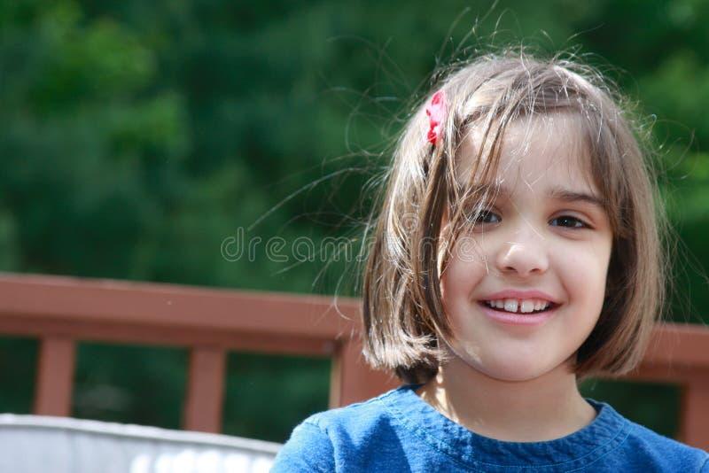 Zoete Glimlach stock foto's