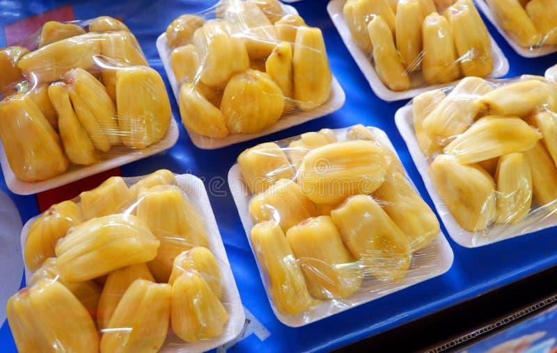 zoete heerlijke Jackfruit royalty-vrije stock afbeeldingen