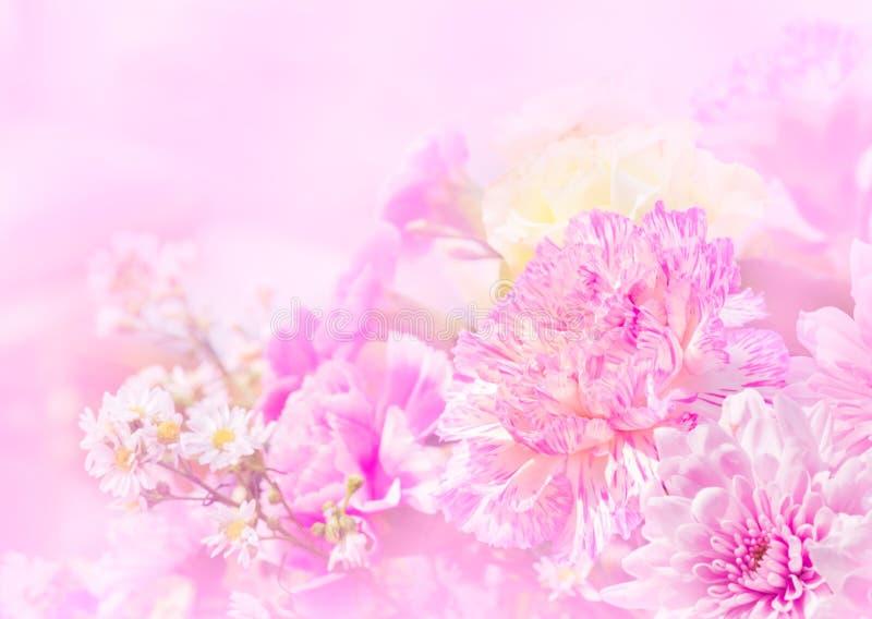 Zoete kleur van mooie bloem voor huwelijk stock afbeelding