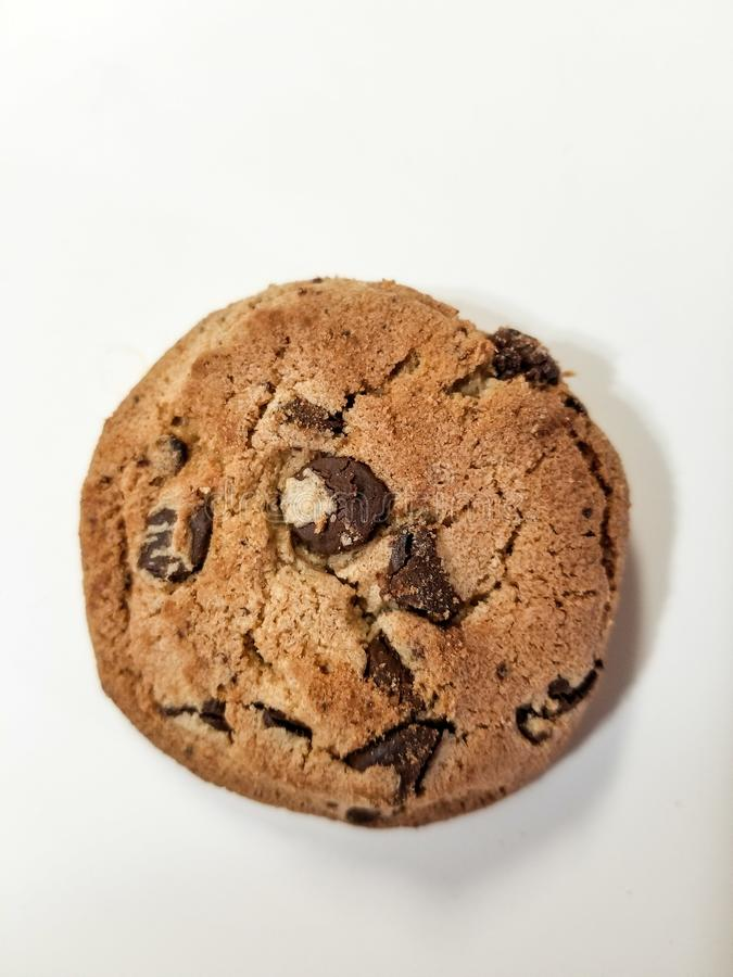 Zoete Koekjeschocolade Chip Snack royalty-vrije stock fotografie