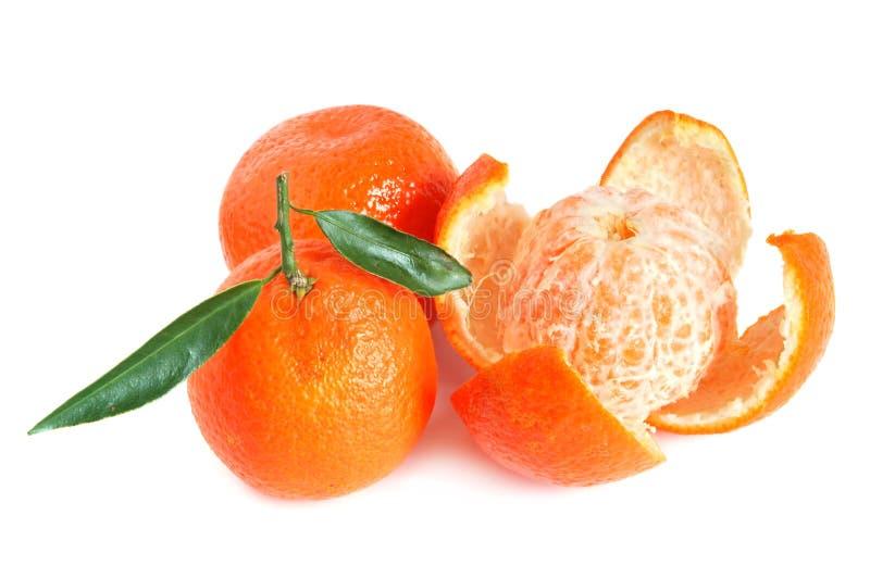 Zoete mandarijnen royalty-vrije stock foto's
