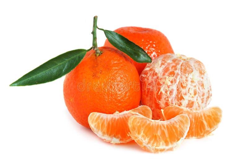 Zoete mandarijnen stock fotografie