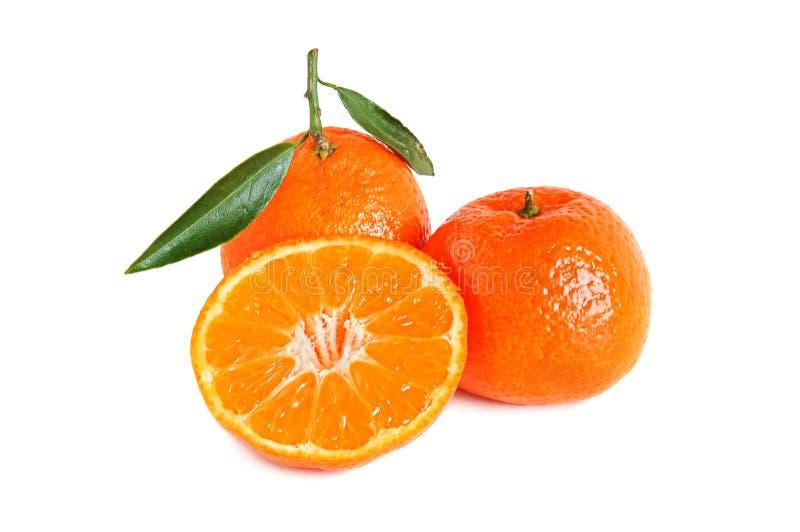 Zoete mandarijnen royalty-vrije stock afbeelding