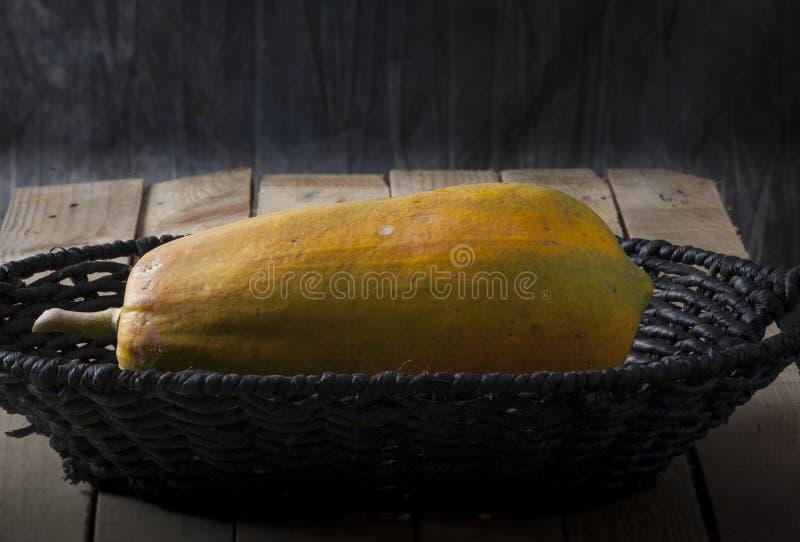 Zoete papaja royalty-vrije stock fotografie