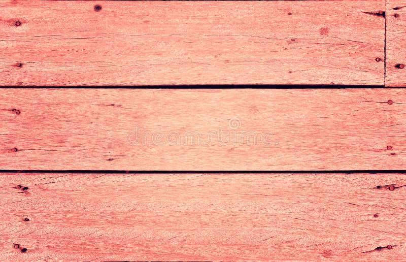Zoete roze houten achtergrond - uitstekende stijl royalty-vrije stock afbeelding