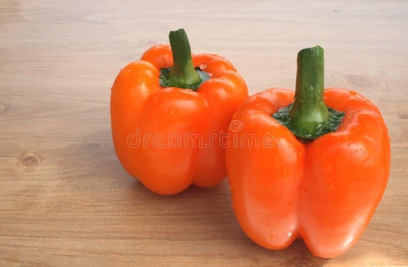Zoete sinaasappelpeper stock afbeeldingen