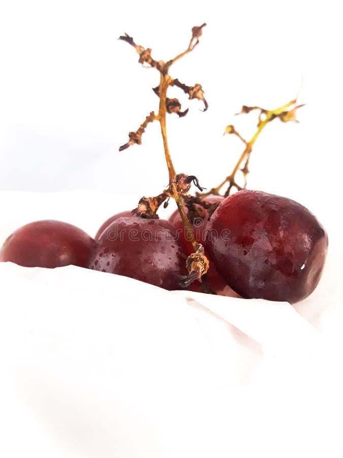 Zoete smaak van druiven stock foto