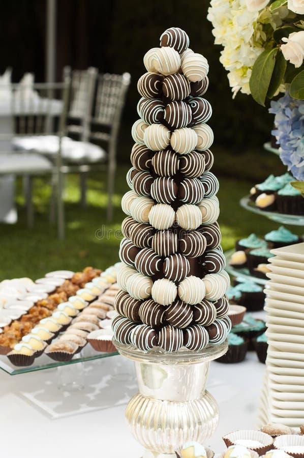 Zoete snacks royalty-vrije stock fotografie
