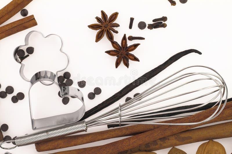 Zoete voedselingrediënten stock foto's