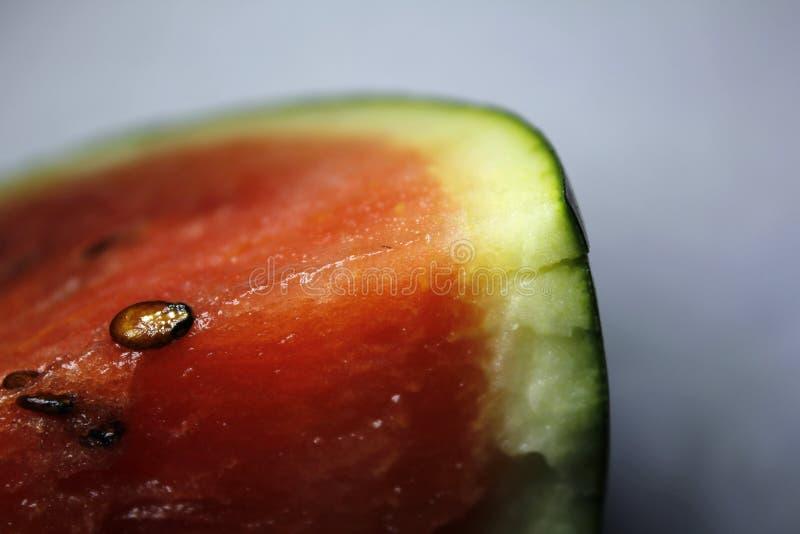 Zoete Watermeloen op lichte achtergrond royalty-vrije stock afbeelding