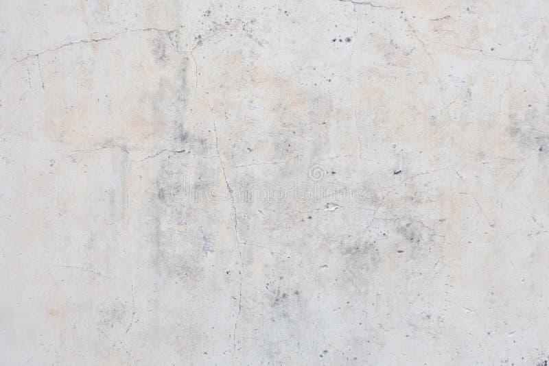 Zolder-stijl pleistermuren, grijze, witte, lege die ruimte als behang wordt gebruikt Populair in huisontwerp of binnenlands ontwe royalty-vrije stock foto