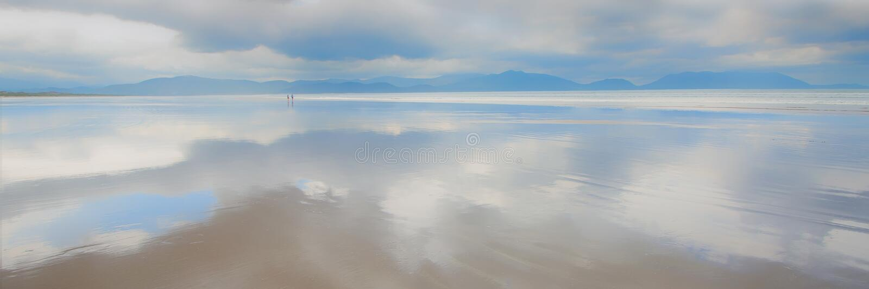 Zoll-Strand, Dingle-Halbinsel, Co Kerry, Irland lizenzfreies stockbild