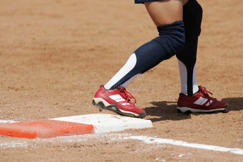 Zolla 01 di softball immagine stock libera da diritti