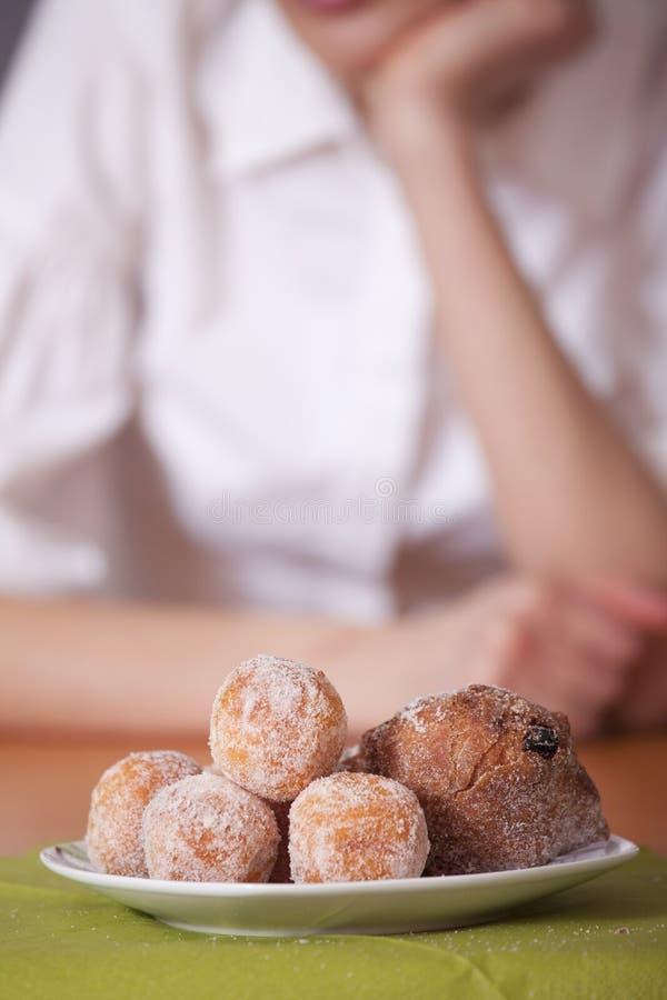 Zolla con le torte dello zucchero immagine stock libera da diritti