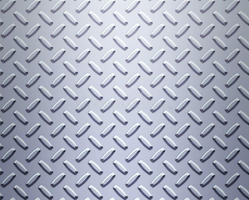 Zolla d'acciaio del diamante della lega illustrazione di stock