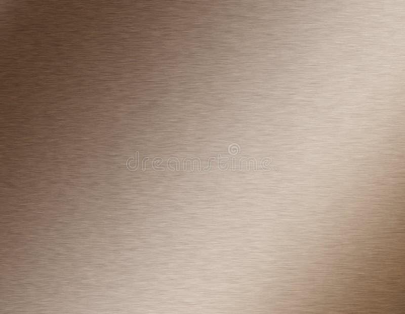 Zolla d'acciaio spazzolata illustrazione di stock