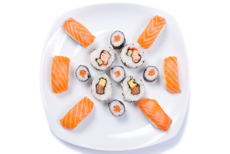 Zolla dei sushi fotografie stock libere da diritti