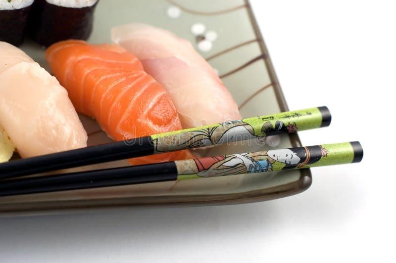 Download Zolla dei sushi immagine stock. Immagine di rullo, cetriolo - 212111
