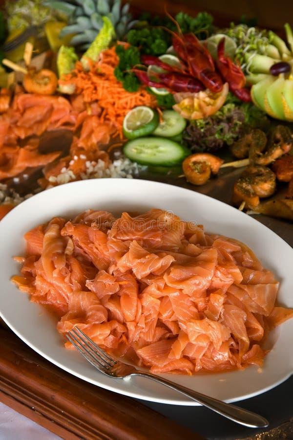 Zolla di color salmone immagini stock