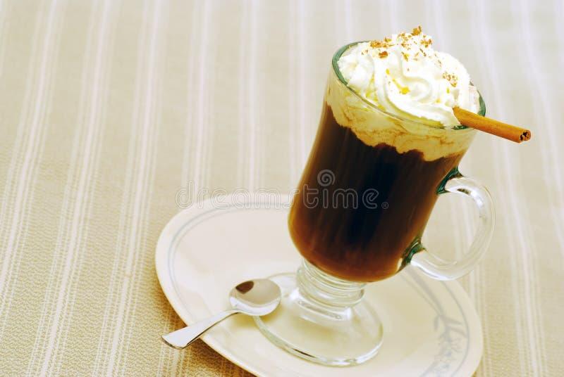 Zolla di ona del cioccolato caldo fotografie stock libere da diritti