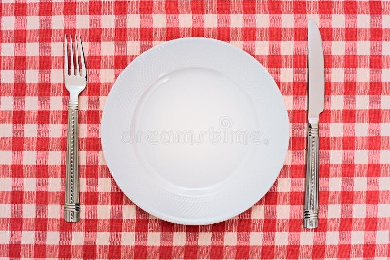 Zolla di pranzo vuota fotografie stock