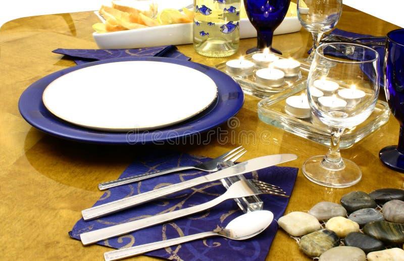 Zolla pronta per un pranzo immagini stock libere da diritti
