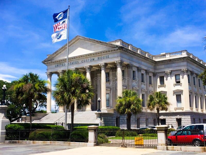 Zollamt Vereinigter Staaten, Charleston, Sc lizenzfreies stockbild