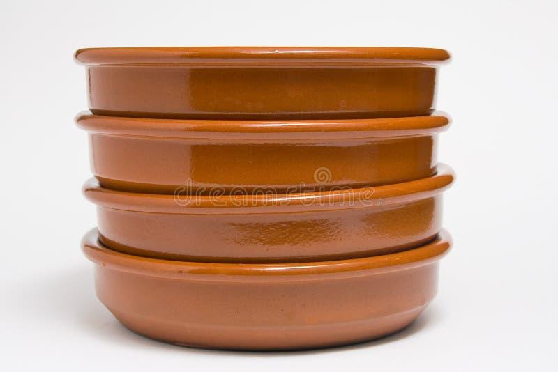 Zolle dell'argilla fotografia stock