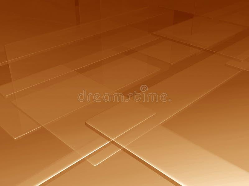 Zolle dorate illustrazione di stock