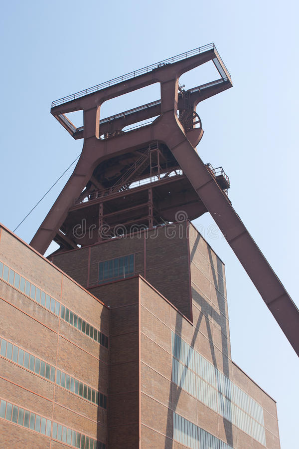 Free Zollverein Coal Mine Industrial Complex, Essen, Ge Stock Image - 19819181