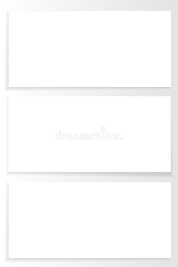 Zombaria do vetor acima do inseto ajustado ou da placa do broshure Artigos de papelaria do negócio ilustração stock
