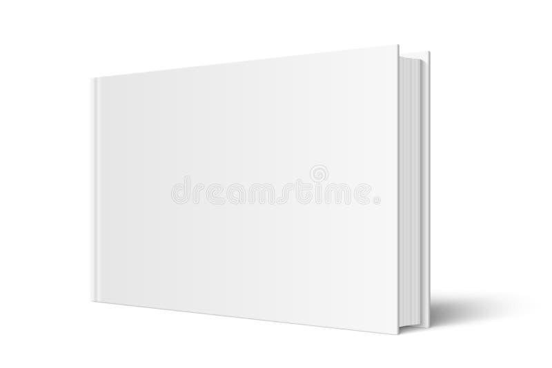 Zombaria do vetor acima do livro ereto ilustração stock