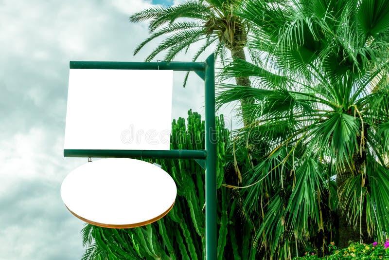 Zombaria retangular da forma acima do quadro indicador da loja, da loja ou do restaurante imagens de stock