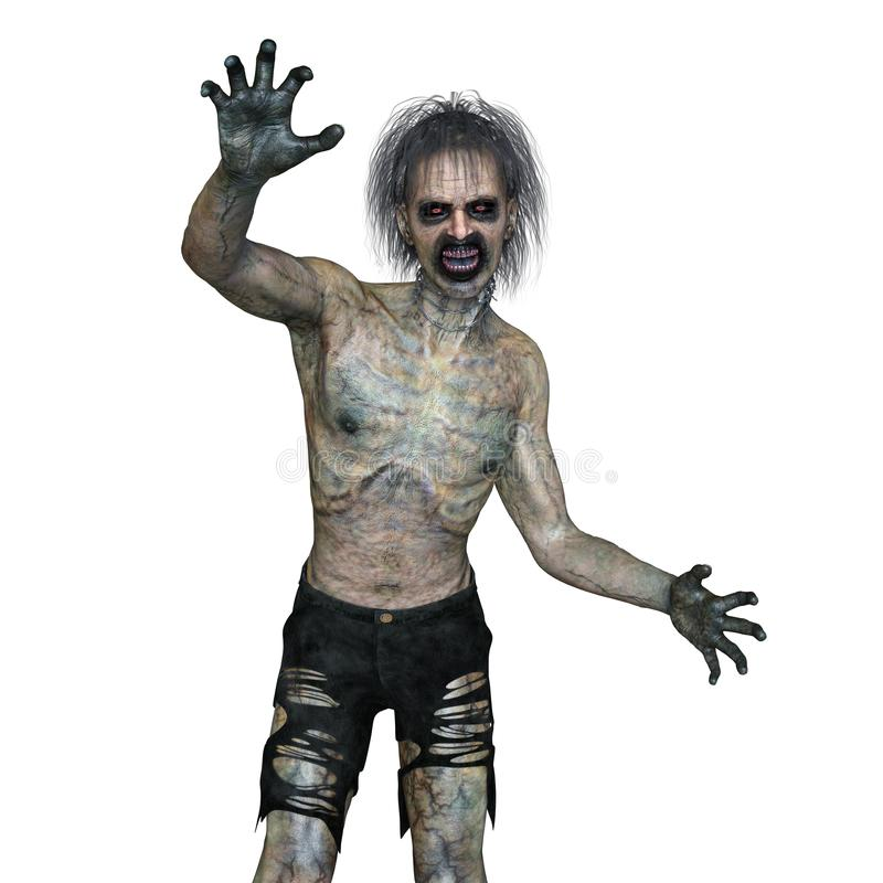 zombi illustration stock