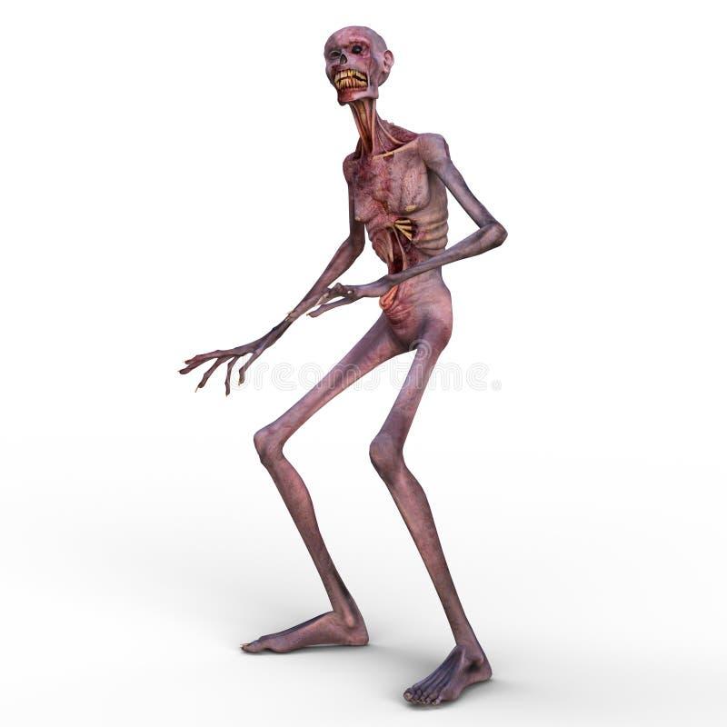 zombi illustration libre de droits