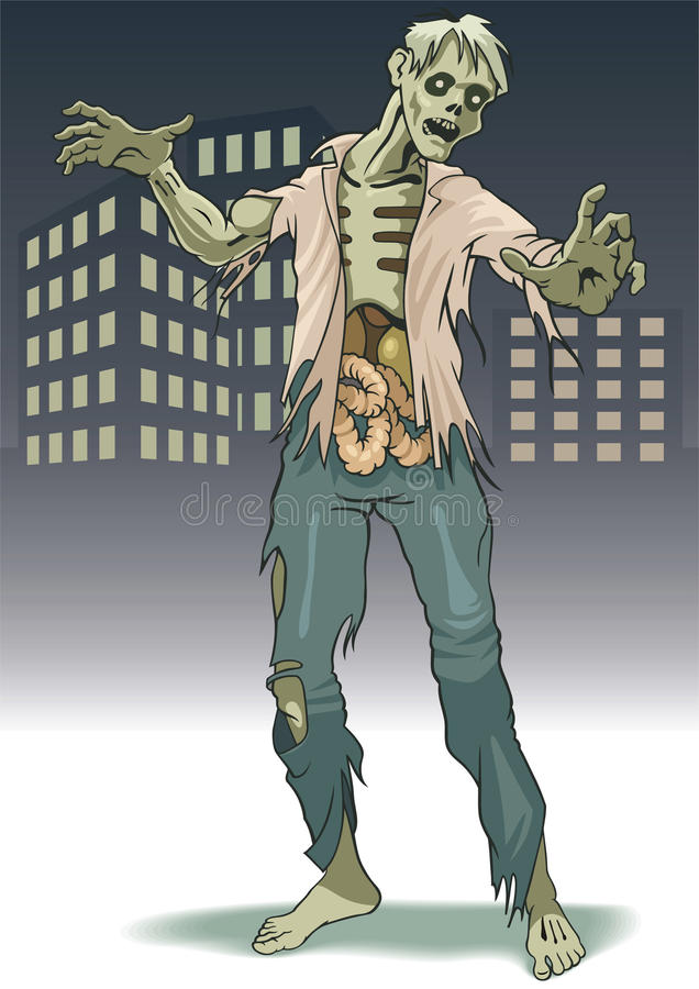 Download Zombi stock vector. Image of rotting, grotesque, monster - 16350348