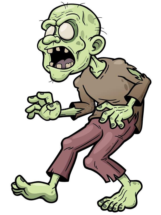 zombi ilustração do vetor