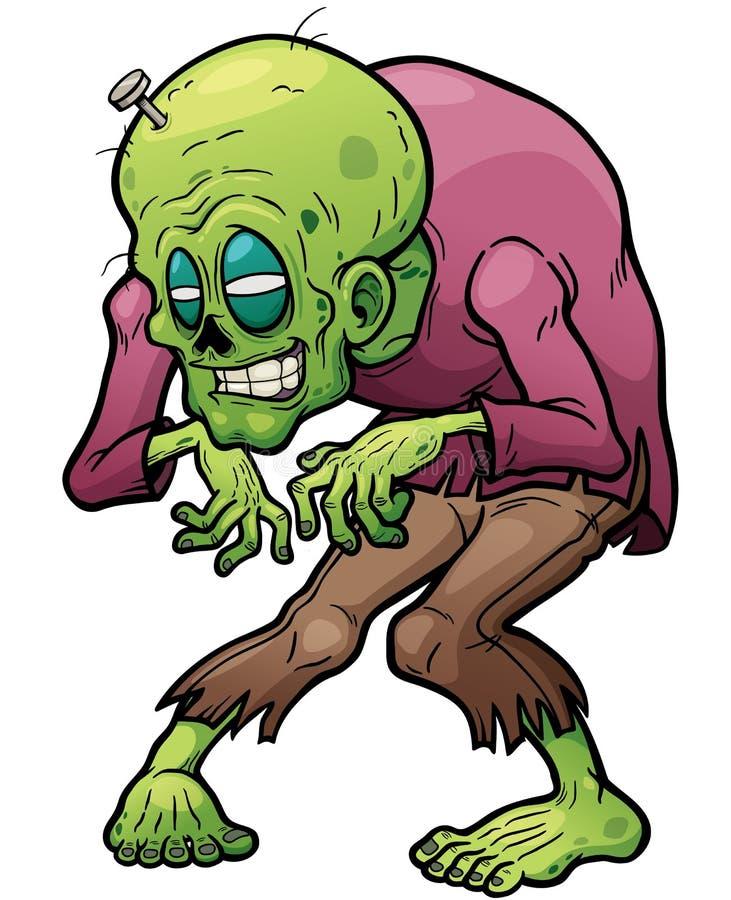 zombi ilustração stock