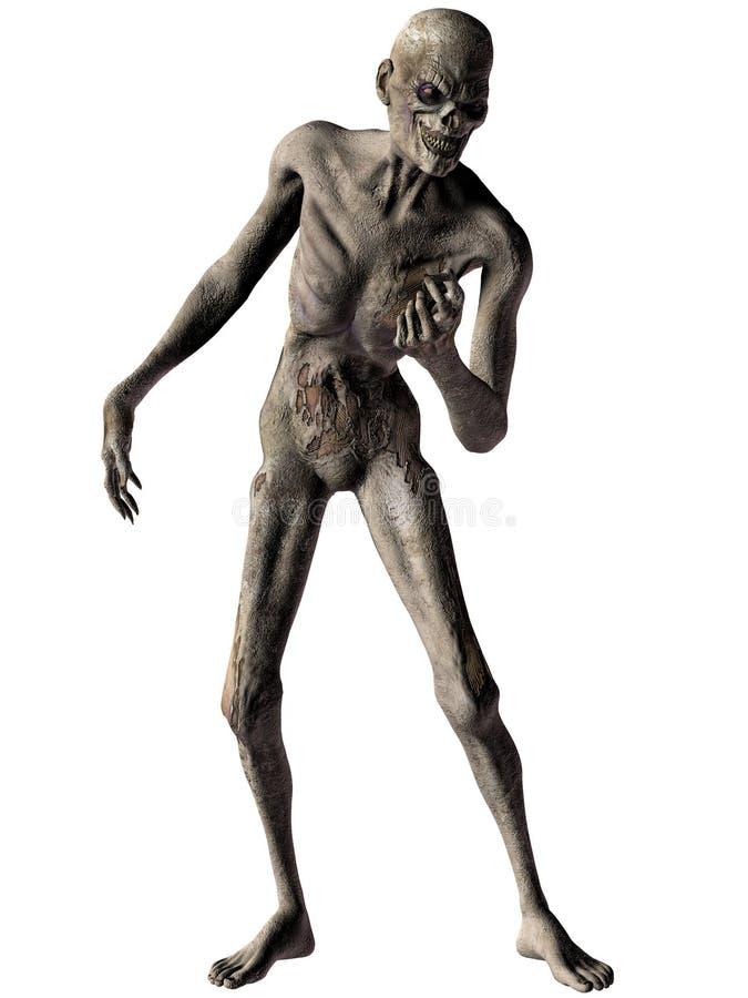 Zombi - chiffre de Veille de la toussaint illustration libre de droits