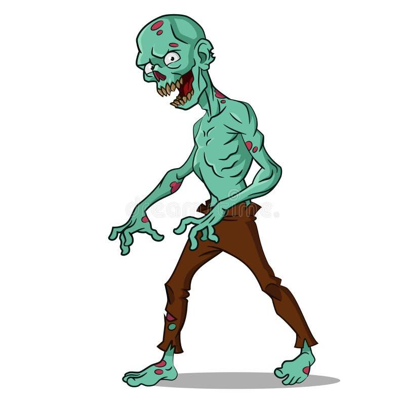 Zombi de Lame illustration stock