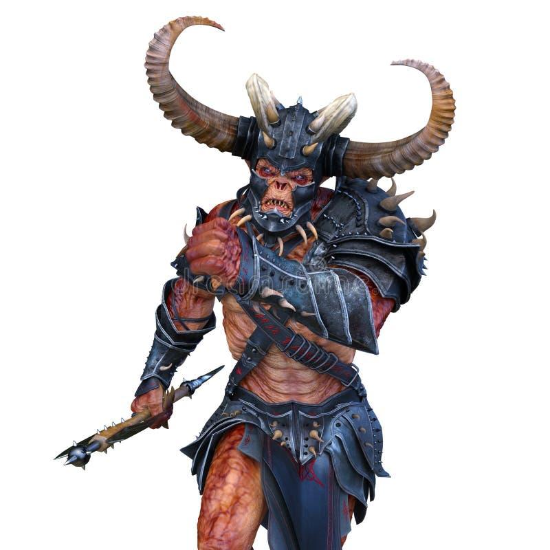Zombi de Viking illustration libre de droits